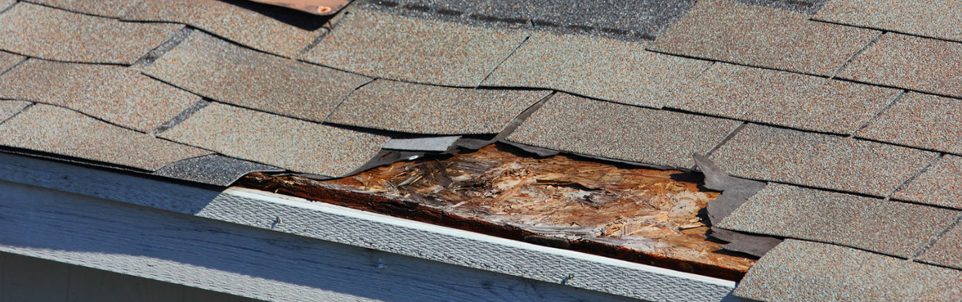 Roof Repair Header